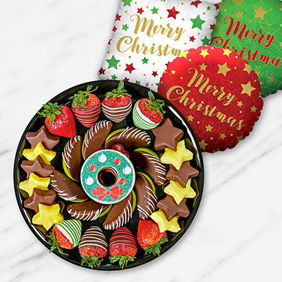 Deck the Halls Fruits & Chocolate