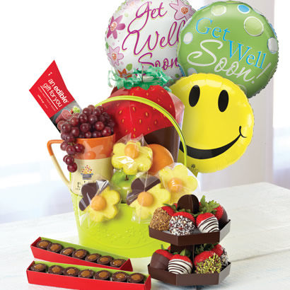Delightful Get Well Gift Basket