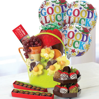 Delightful Good Luck Gift Basket