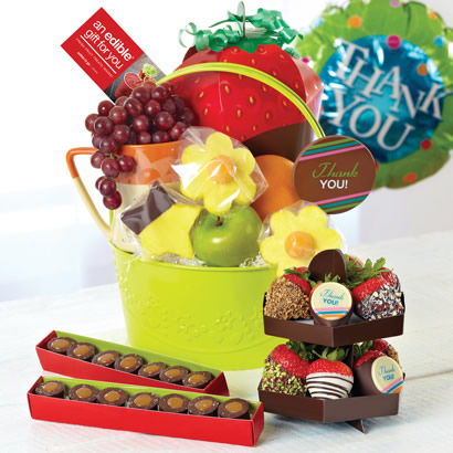 Delightful Thank You Gift Basket