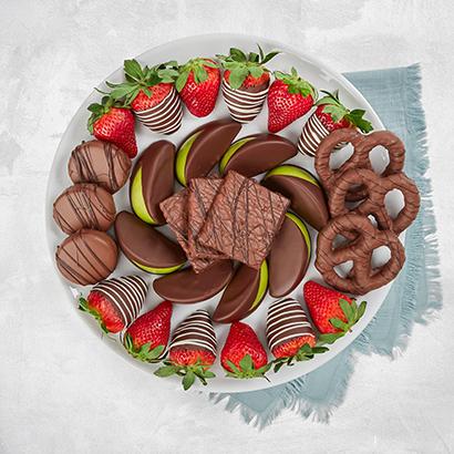Dipped Decadence Dessert Platter