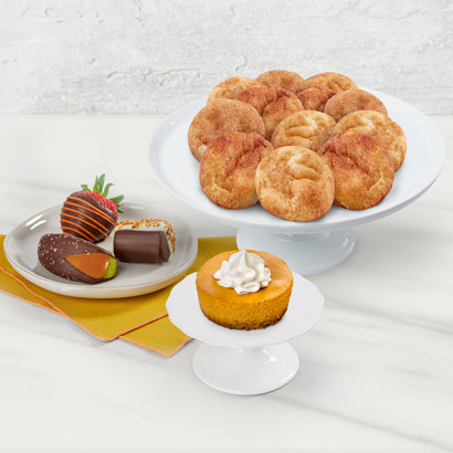Fall Flavors Snickerdoodle Cookie Bundle