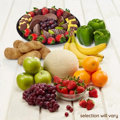 Fresh Produce and Dessert Bundle