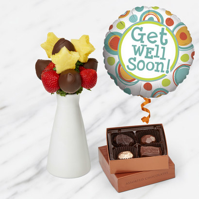 Get Well Soon Chocolate Bundle