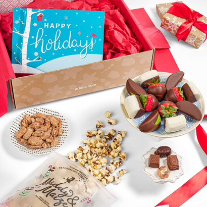Happy Holidays Curated Gift Box