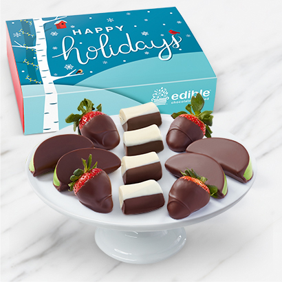 Happy Holidays Chocolate Box