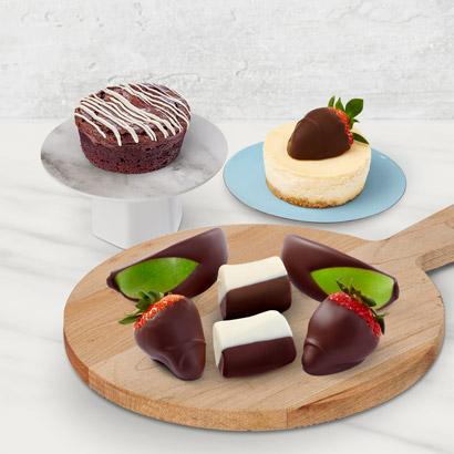 Indulgent Chocolate Trio