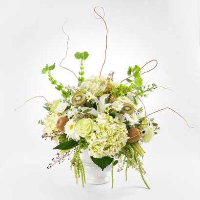 Kiwi Flower Arrangement