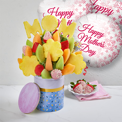 Mothers Day Balloons & Bouquet Bundle