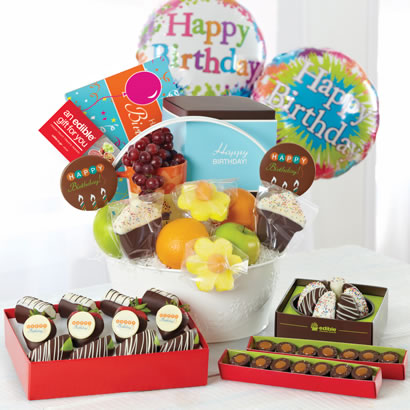 Perfect Birthday Gift Basket
