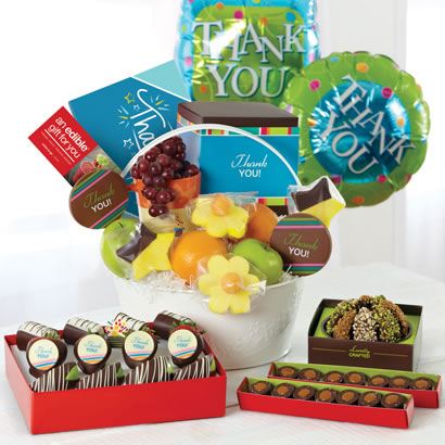 Perfect Thank You Gift Basket