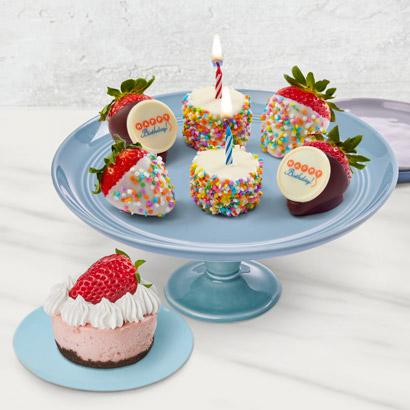 Strawberry Birthday Blast Treat Box