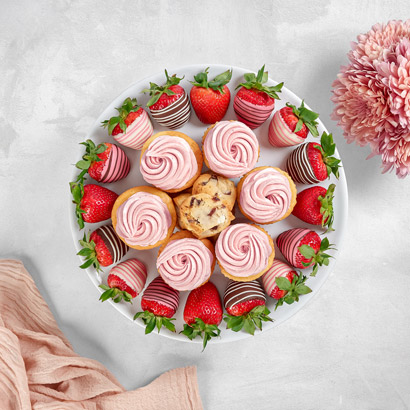Strawberry Sweets Platter