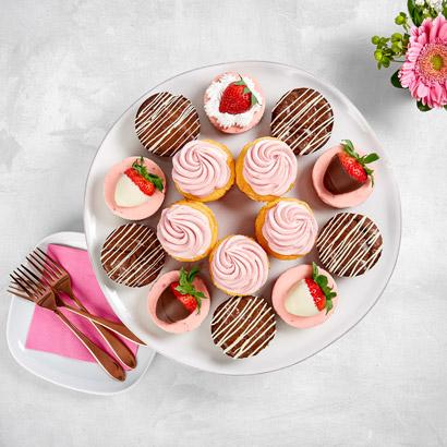Strawberry Indulgence Dessert Platter