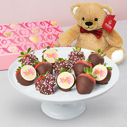Valentines Day Strawberry Sweetheart Bundle