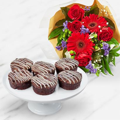 Thanksgiving Brownie Bouquet