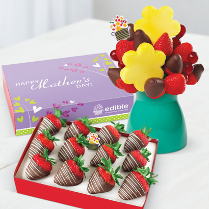 Just For You Daisy & Edible Signature Chocolate Box