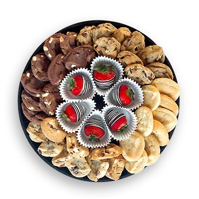 Cookies & Swizzle Berries® Platter