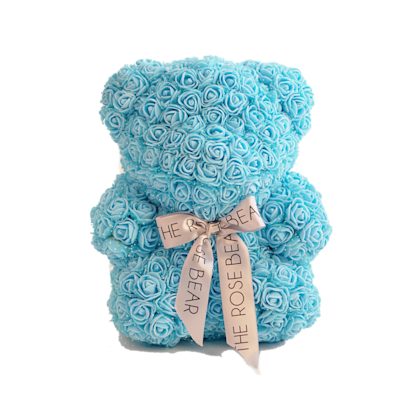 FunSize Baby Blue Rose Bear