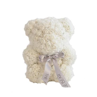 FunSize White Rose Bear