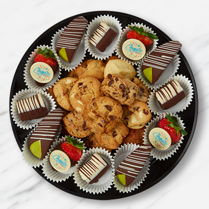 Congratulations Cookies & Fruit Platter