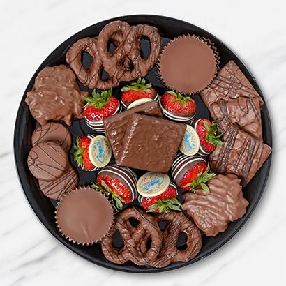 Congratulations Chocolate Dessert Platter