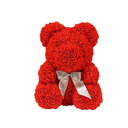 The Original Red Rose Bear