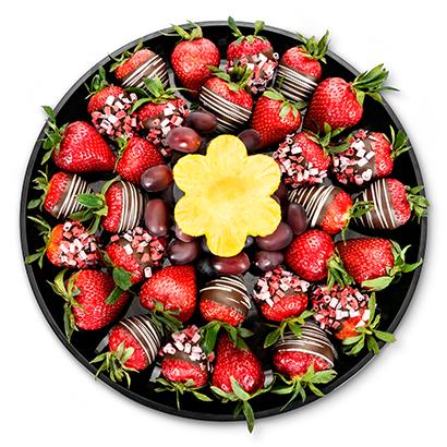 Sparkle Berry Platter