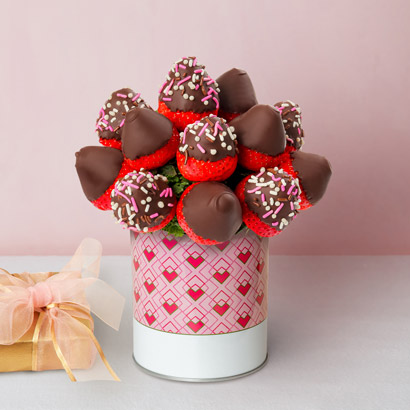 Valentines Day Strawberry Bouquet