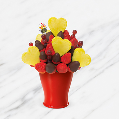 Blooming Hearts™ Dipped Strawberries