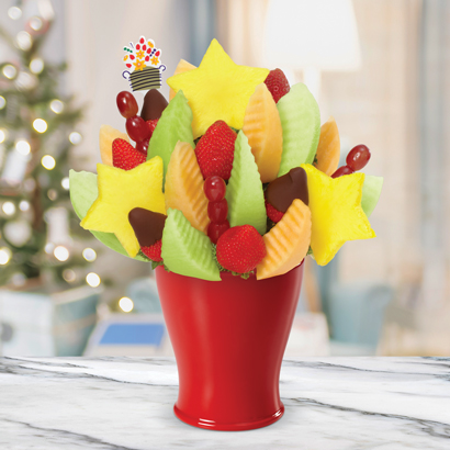 NEW!  Brighten Their Day Daisy Dipped Strawberries