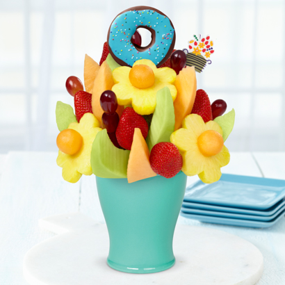 FruitFlowers Bouquet Edible Donut