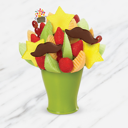 Fathers Day Mustache Bouquet