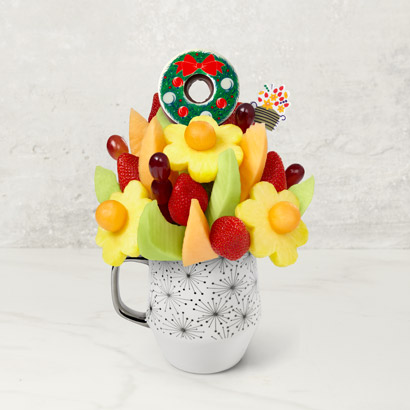 Simply Edible Bouquet with Wreath