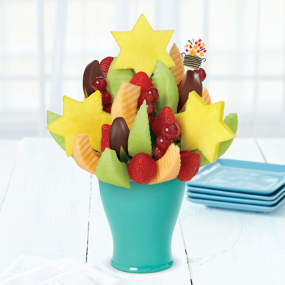 Star of David Daisy® Dipped Apple Wedges