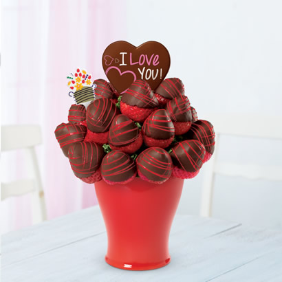 Sweetheart Bouquet® - with Belgian Chocolate Pop