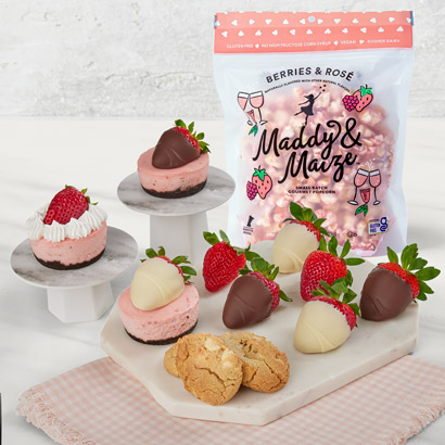 Strawberry Sweets and Popcorn Crunch Bundle
