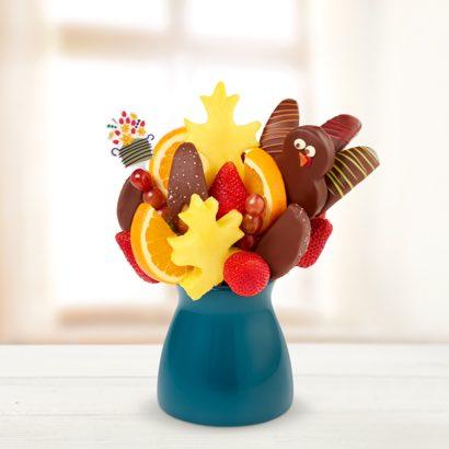 Salted Caramel Harvest Daisy™ Edible® Turkey