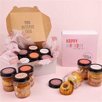 Happy Birthday Bundt Cake Jars