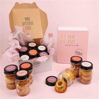 Its Your Birthday Bundt Cake Jars