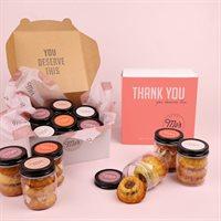 Thank You Bundt Cake Jars