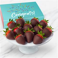 Congratulations Chocolate Dipped Strawberries