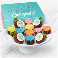 Congratulations Pineapple Drip Cakes™  & Berries