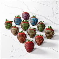 Rainbow Chocolate Covered Strawberries Box