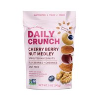 Cherry Berry Fruit  Nut Medley  Daily Crunch Snacks