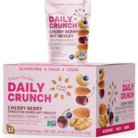 Cherry Berry Fruit  Nut Medley Grab  Go  Daily Crunch Snacks