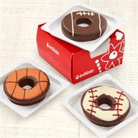 Edible® Donuts - Sports Mix