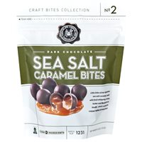 Dark Sea Salt Caramel Bites