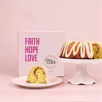 Faith Hope Love Cinnamon Bundt Cake