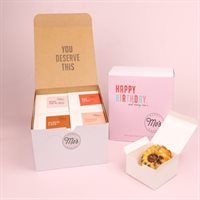 Happy Birthday Mixed Bundt Cake Box